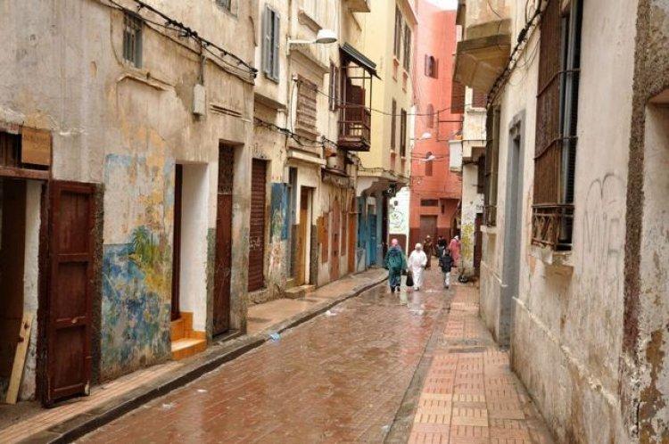 المدينة القديمة في كازابلانكا