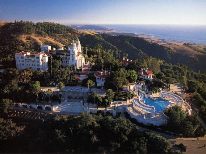 قلعة هيرستفي كاليفورنيا