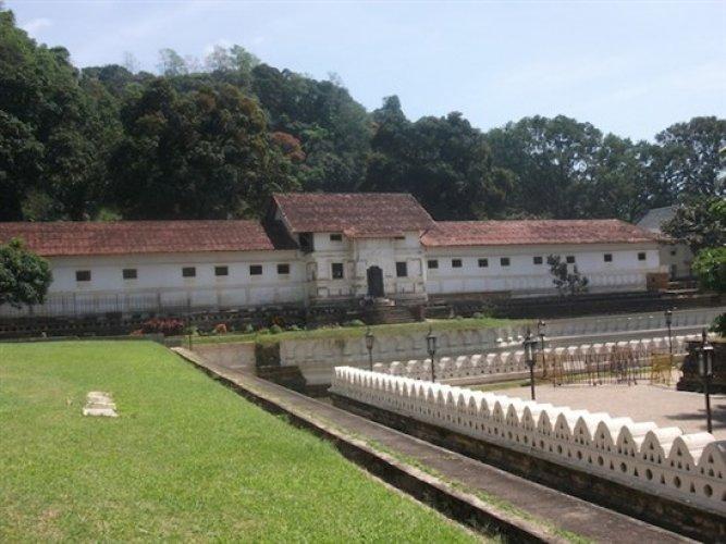 القصر الملكي في كاندي - سريلانكا