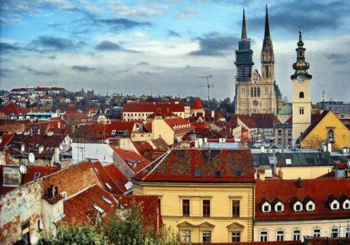مدينة زغرب في كرواتيا