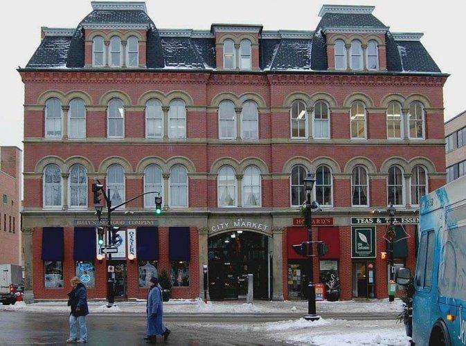 سوق المدينة القديس يوحنا Saint John City Market في كندا