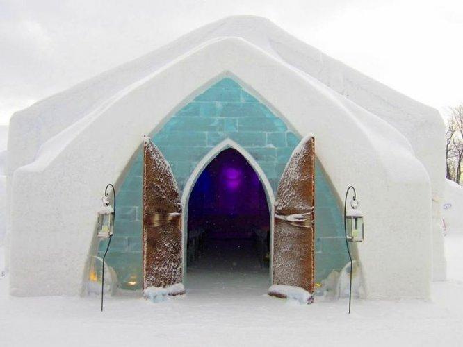 فندق الثلج