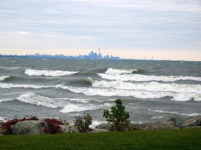 بحيرة أونتاريو في كندا