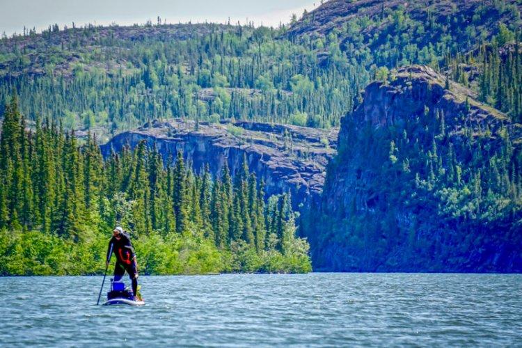 بحيرة جريت سليف في كندا