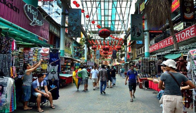 شارع بيتالينغ في مدينة كوالالمبور