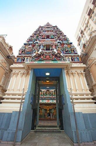 معبد سري مهاماريامان في كوالالمبور