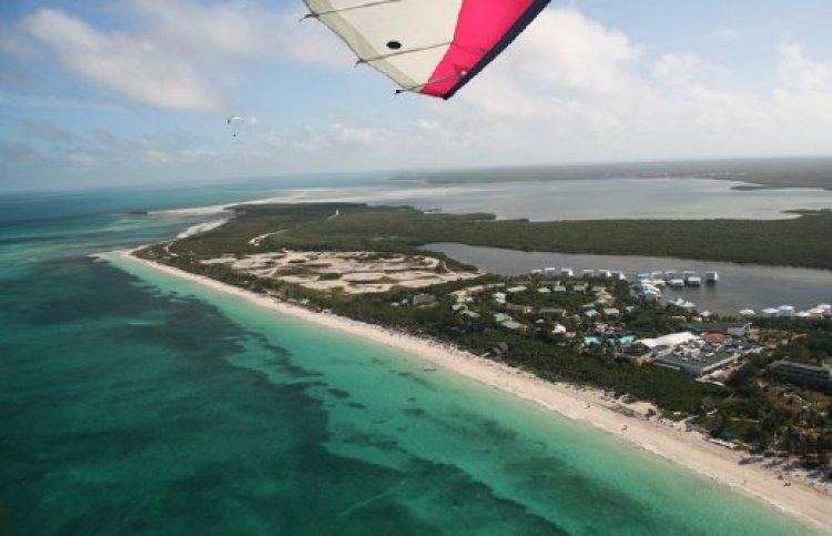 ركوب المناطيد وإكتشاف جزيرة كايو كوكو
