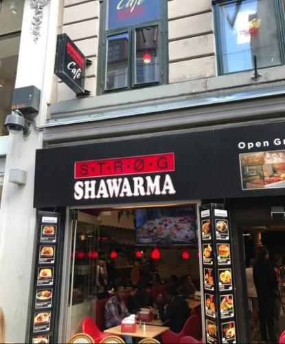 مطعم Strog Shawarma في كوبنهاجن