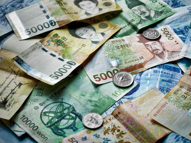 وون كوري جنوبي العملة الرسمية لكوريا الجنوبية