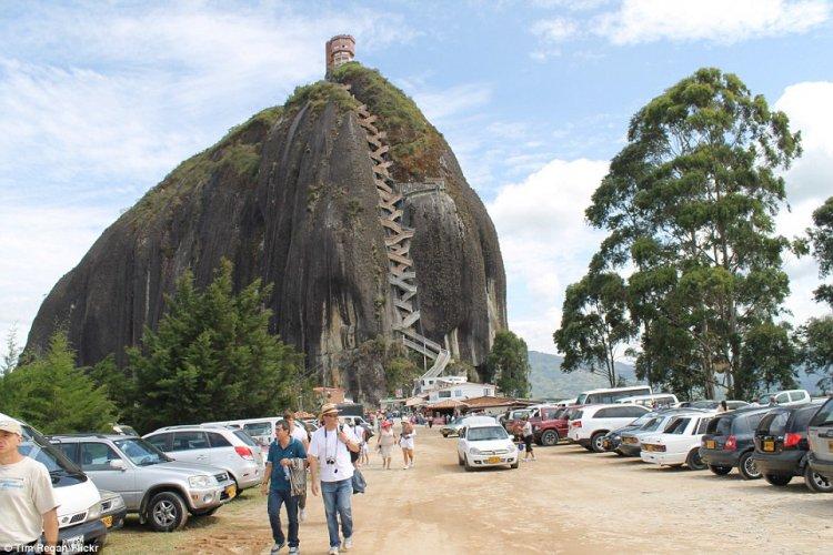 صخرة جواتاب في كولومبيا