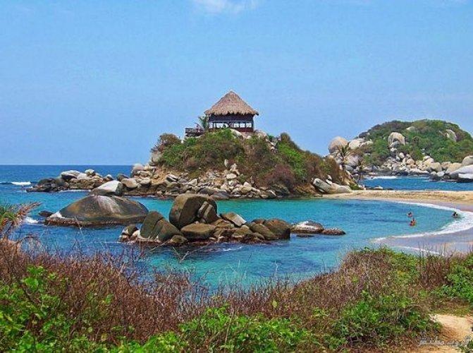 شواطئ حديقة تايرونا الجاذبة للزوار