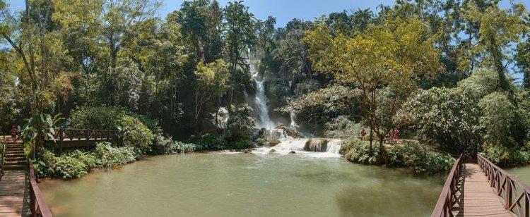 شلالات كوانغ سي في لوانغ برابانغ