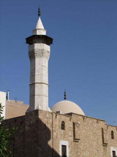 مئذنة المسجد العمري