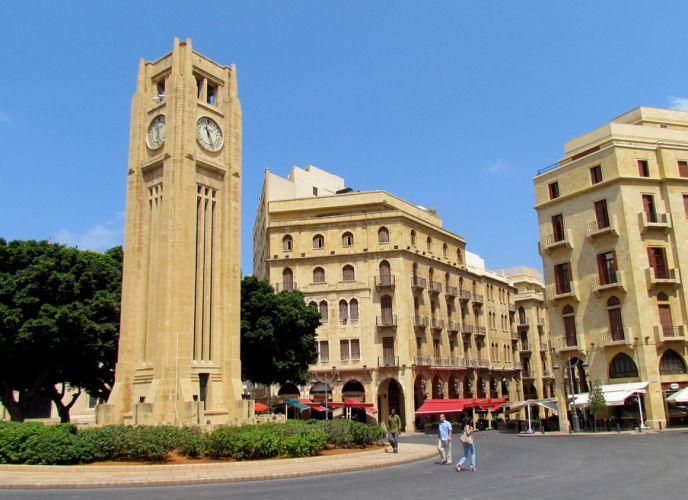 برج ساعة الحميدية بيروت