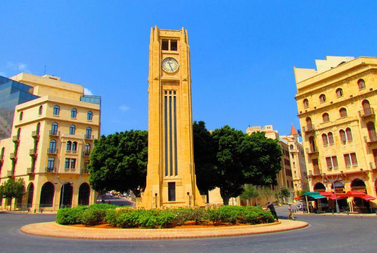 برج ساعة الحميدية لبنان