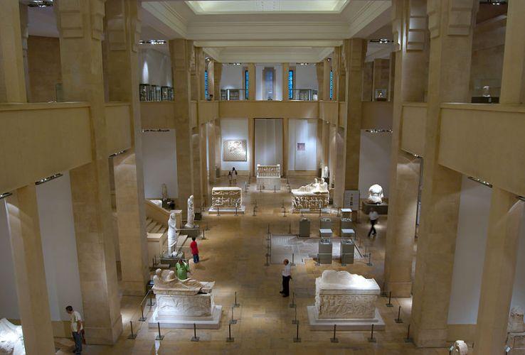 جولة في متحف بيروت الوطني Interior-of-the-National-Museum-of-Beirut