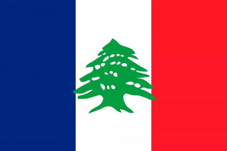 علم فترة الانتداب الفرنسي
