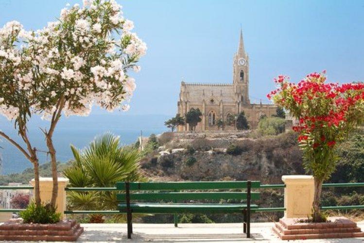 المناظر الطبيعية الجميلة في مالطا