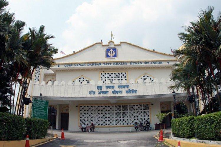 معبد السيخ في مدينة تشوكت ماليزيا