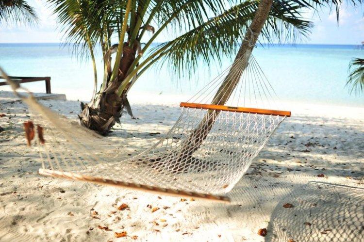شاطئ جزيرة بولا بوم بوم في ماليزيا