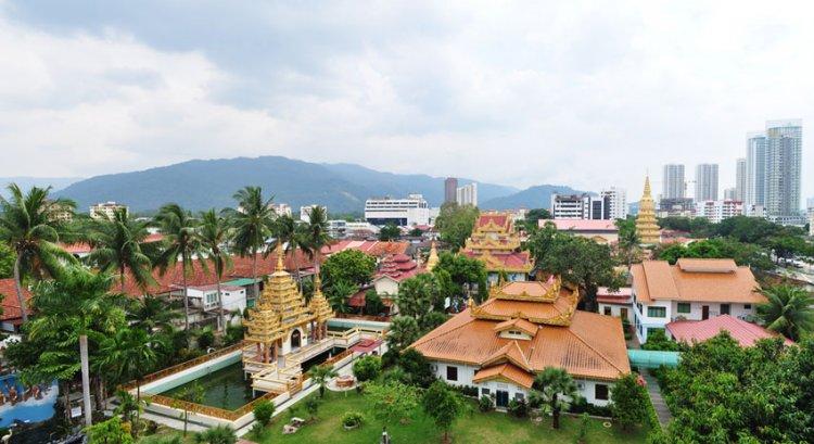 جزيرة بينانج في ماليزيا