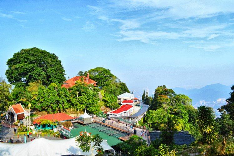هضبة جزيرة بينانج من اجمل المناطق السياحية في ماليزيا