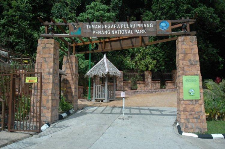 منتزه بينانج الوطني في ماليزيا