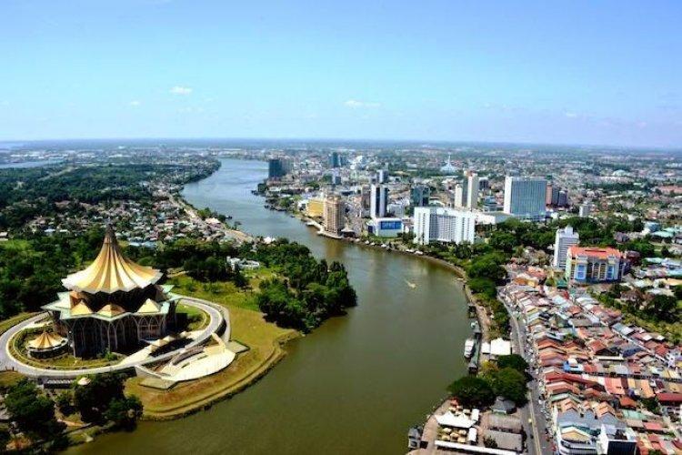 كوتشينج المدينة الصحية في ماليزيا
