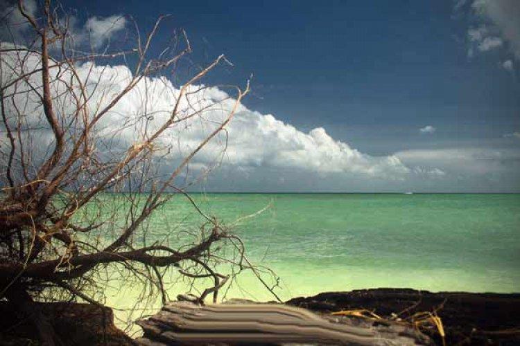 الهواء النقي والشواطئ النظيفة في جزيرة بيسار