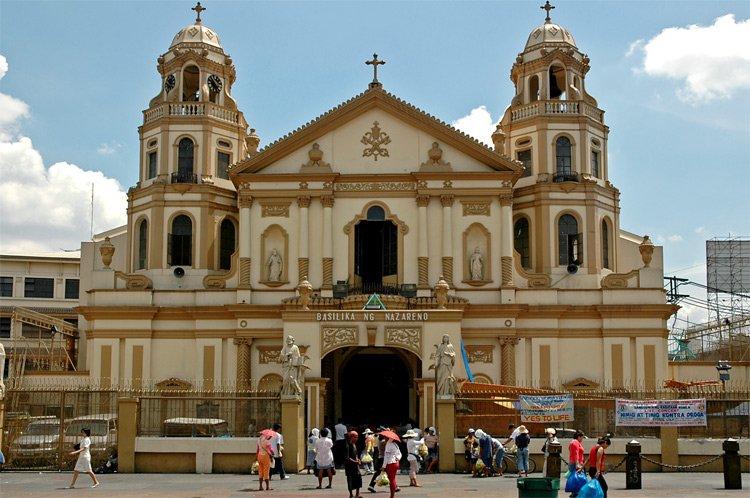 كنيسة سان أغوستين في مانيلا - الفلبين