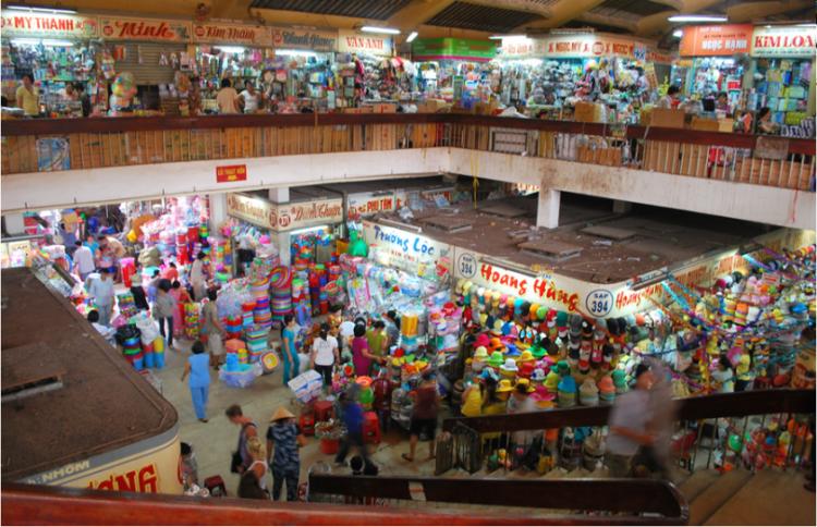 الأسواق الشعبية في فيتنام