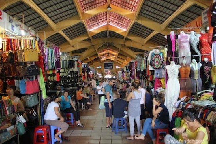سوق بن ثانه في فيتنام