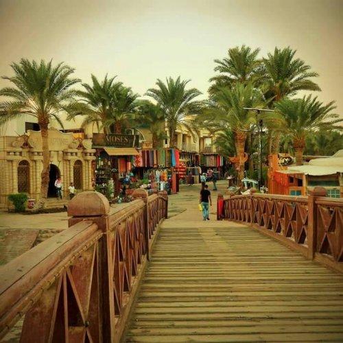 مدينة دهب في جنوب سيناء المصرية