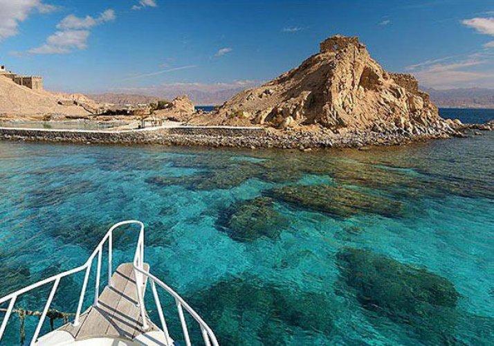 البحيرة المسحورة في محمية رأس محمد بجنوب سيناء
