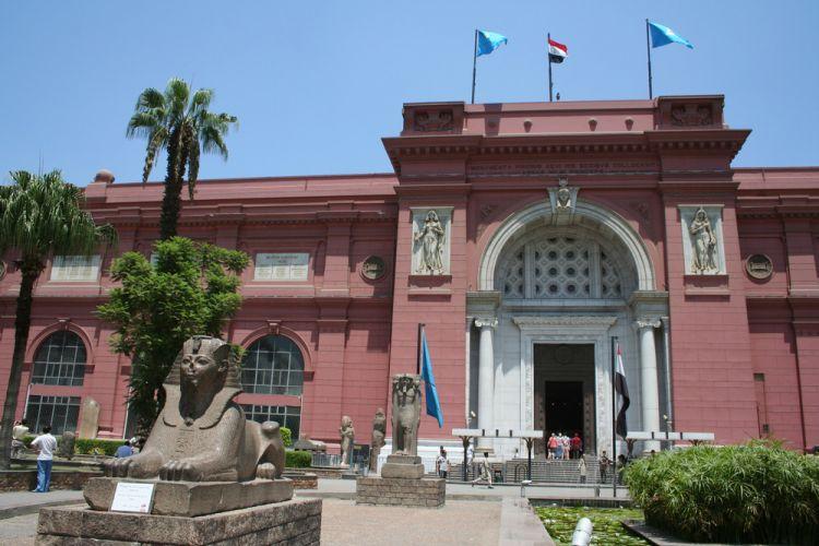 مبنى المتحف المصري القاهرة