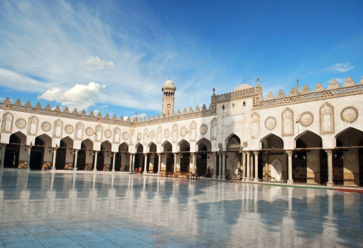 ساحة جامع الأزهر