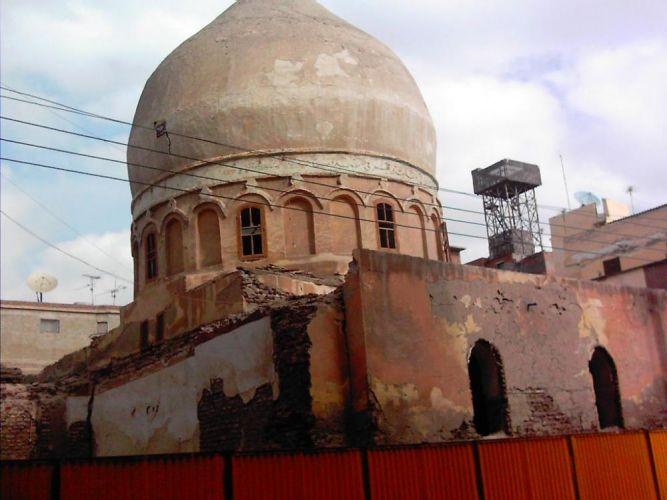 مسجد الحديدي قبل الترميم