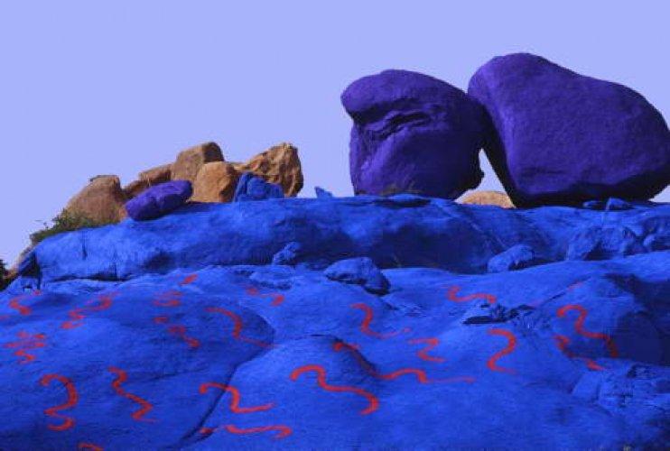 دليل السلام في أرض الفيروز في الصحراء الزرقاء