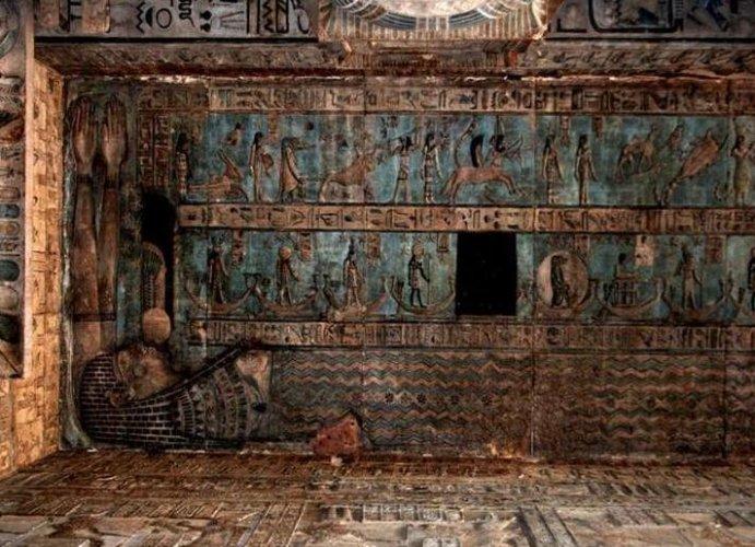 معبد دندرة مازال محتفظا بروعته رغم هذه السنوات
