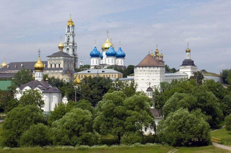 مدينة سرغيايف بوساد في موسكو