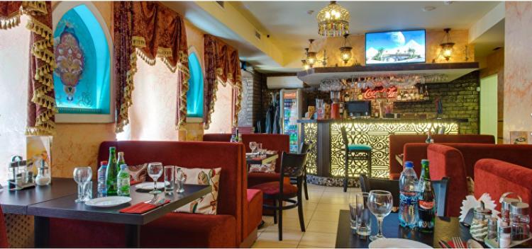 مطعم سندباد في موسكو