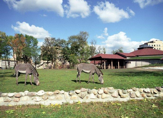 حديقة حيوان موسكو في روسيا