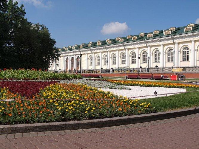 حدائق ألكساندروفسكي في موسكو - روسيا