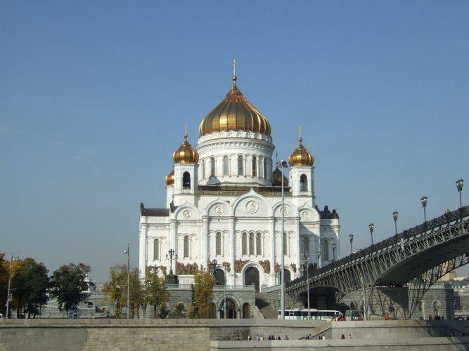 كاتدرائية المسيح المخلص في موسكو - روسيا