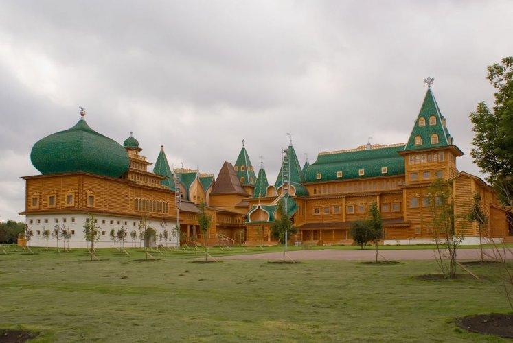 قصر كولومينسكوي في موسكو - روسيا