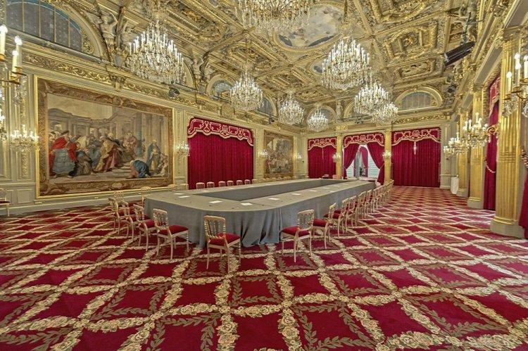 من داخل قصر كولومينسكوي في موسكو