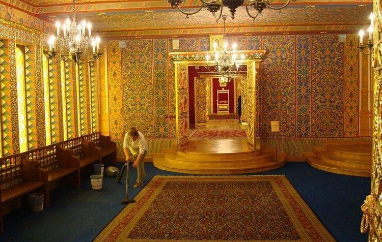 من داخل قصر كولومينسكوي في موسكو - روسيا