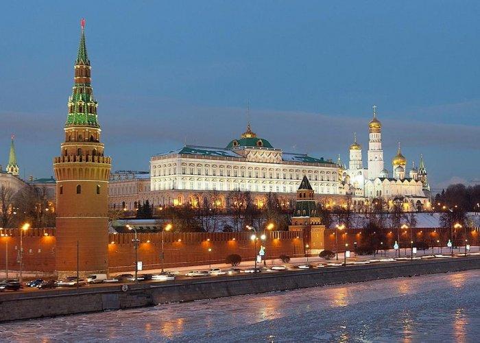 مبنى الكرملين في موسكو