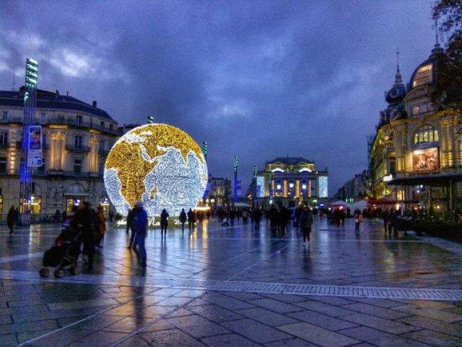 المعالم السياحية في مونبلييه - فرنسا