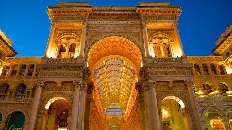 التصميم المعماري لمجمع غاليريا فيتوريو ايمانويل